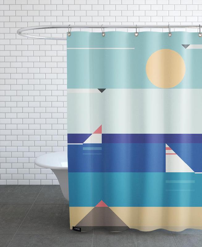 Quiet Sea Shower Curtain
