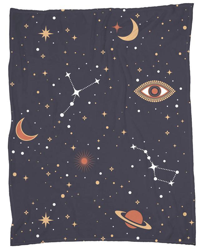 Mystical Galaxy -Fleecedecke