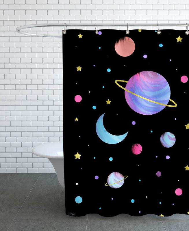 Great Universe -Duschvorhang