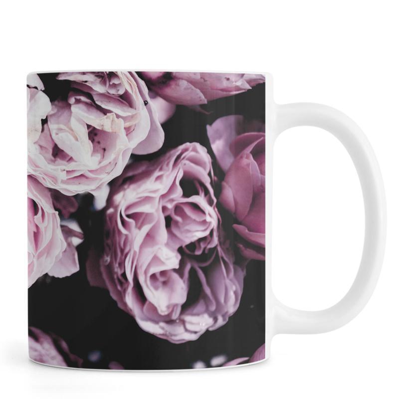 Pink Flowers III mug