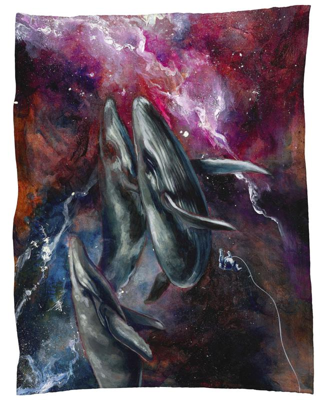 I love the human being, the sea, and the ship Fleece Blanket