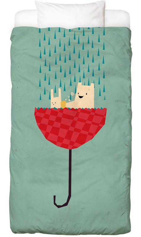 Umbrella bath time! Kids' Bedding