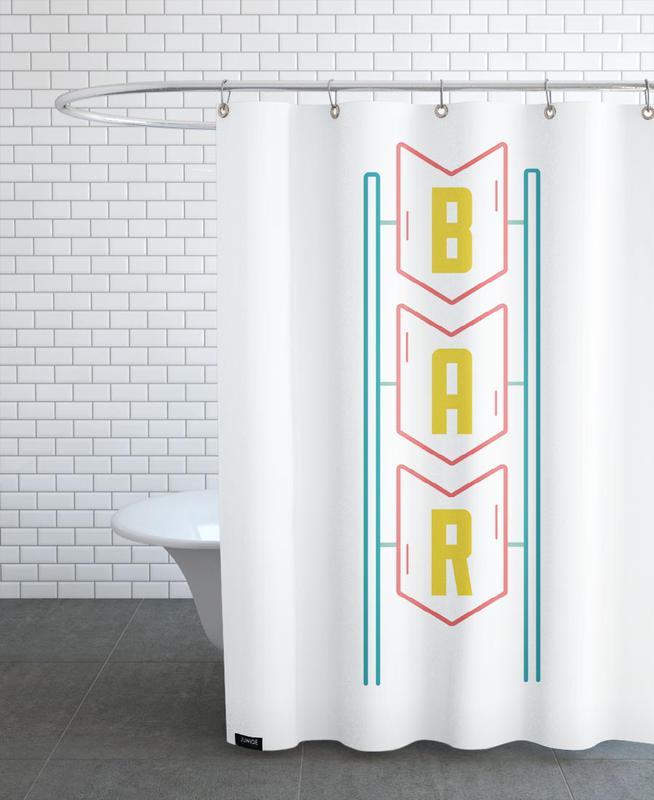 Bar Shower Curtain