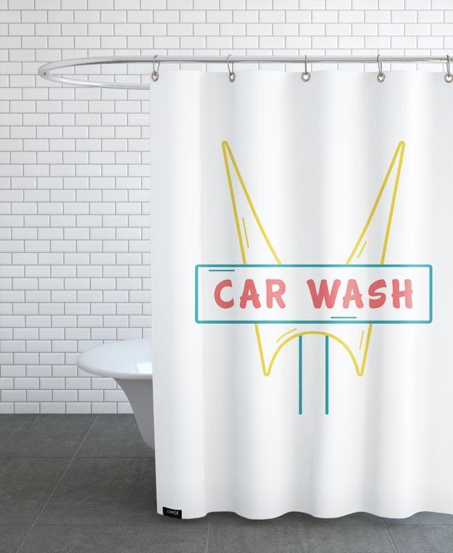 Car Wash -Duschvorhang