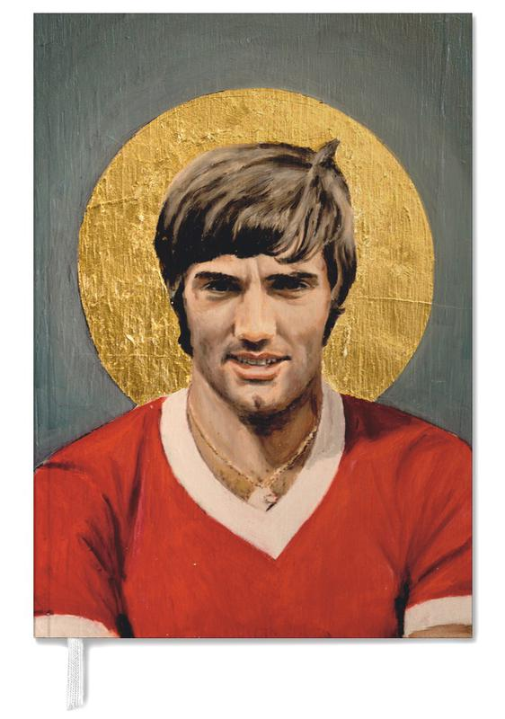 Football Icon - George Best Personal Planner