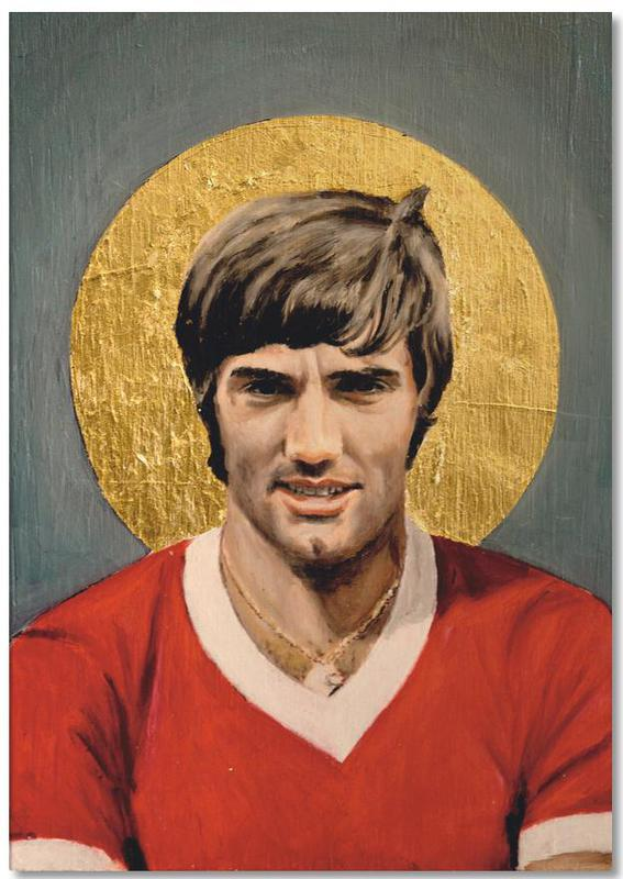 Football Icon - George Best bloc-notes