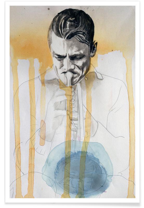 Chet Baker -Poster