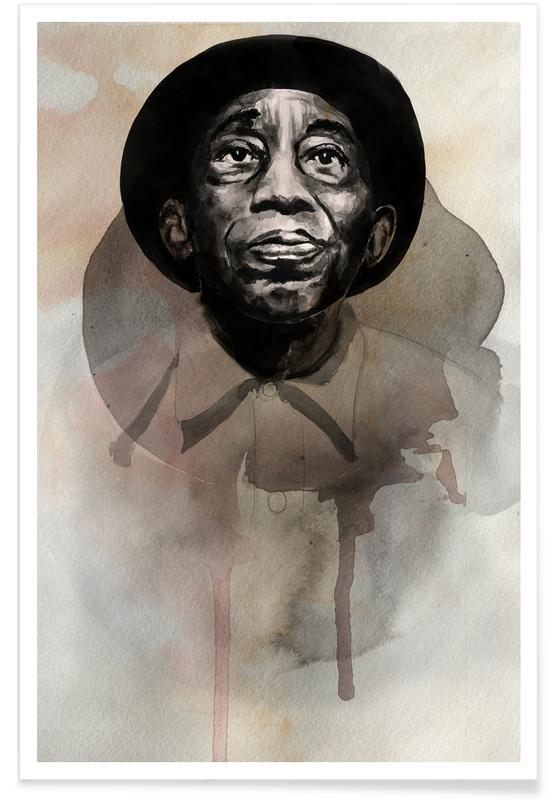Mississippi John Hurt -Poster