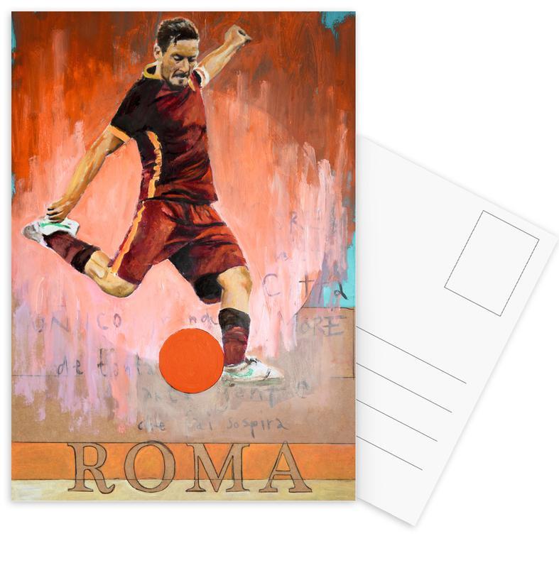 One Love Roma -Postkartenset
