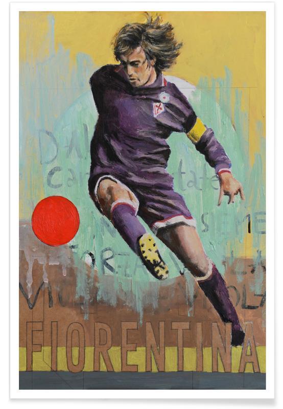 One Love - Fiorentina Poster