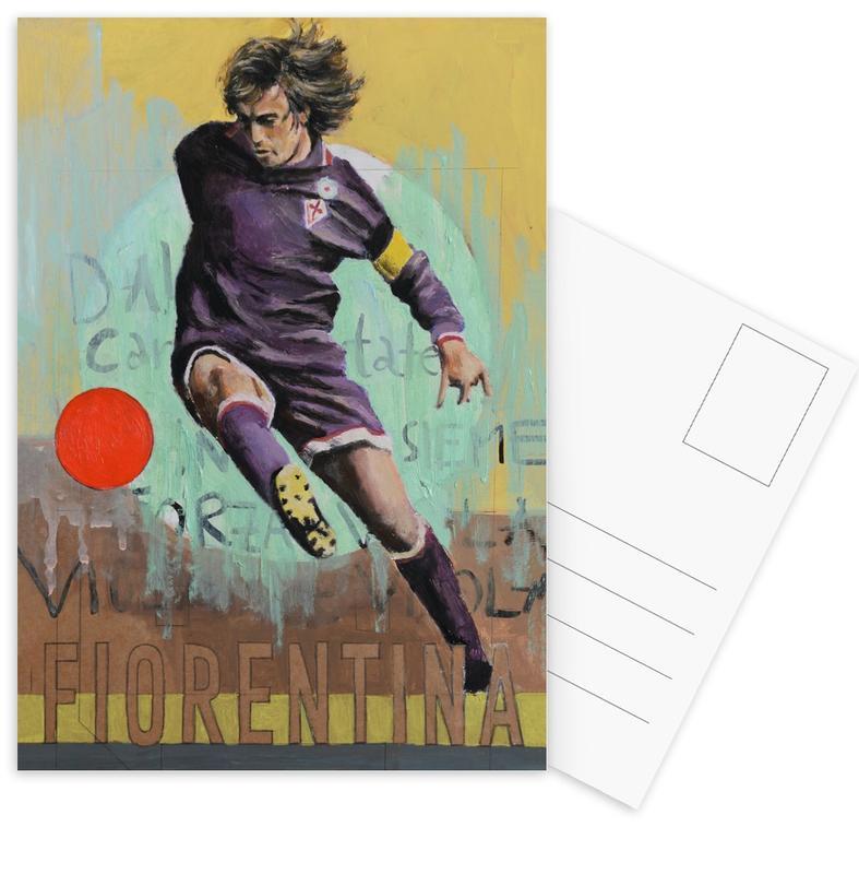 One Love - Fiorentina -Postkartenset