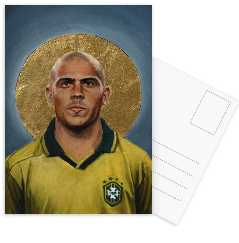 Football Icon - Ronaldo -Postkartenset