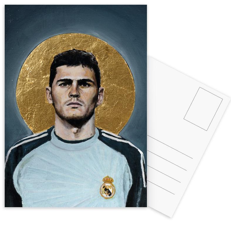 Football Icon - Iker Casillas -Postkartenset