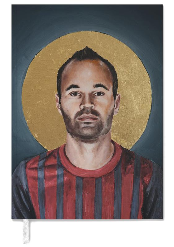 Football Icon - Iniesta Personal Planner
