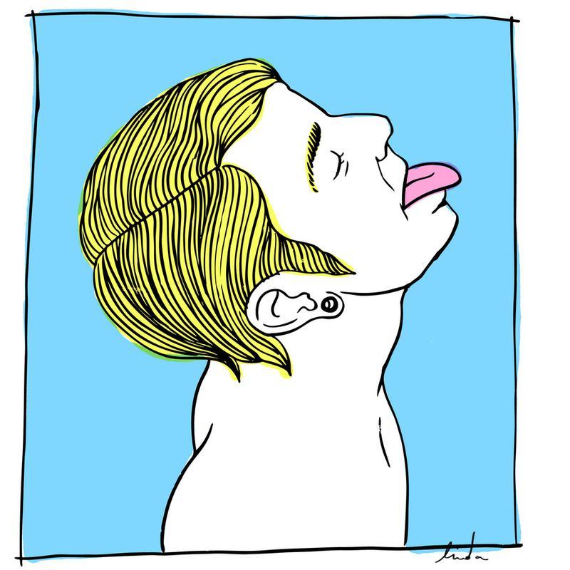Lick acrylglas print