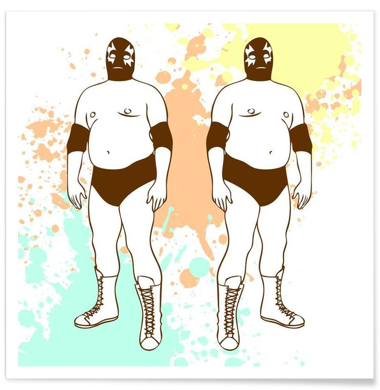 Fat lucha Poster