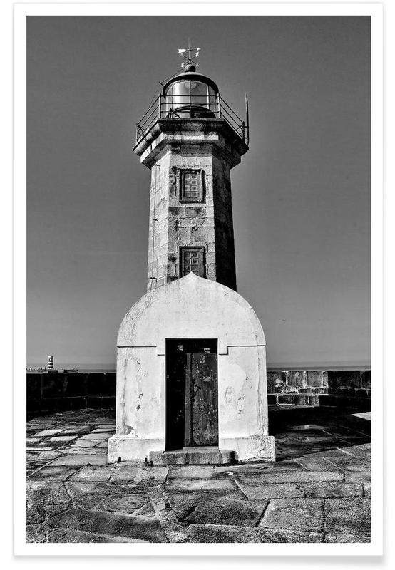 Porto Lighthouse Poster