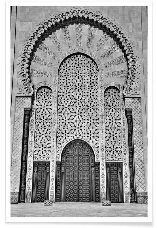Hassan II Mosque 3 Poster