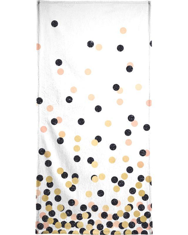 Polka Dots serviette de bain