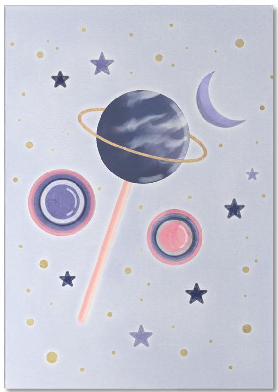 Lollipop Planet Notepad