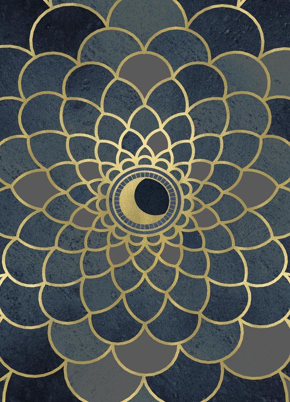 Mystic Moon Canvas Print
