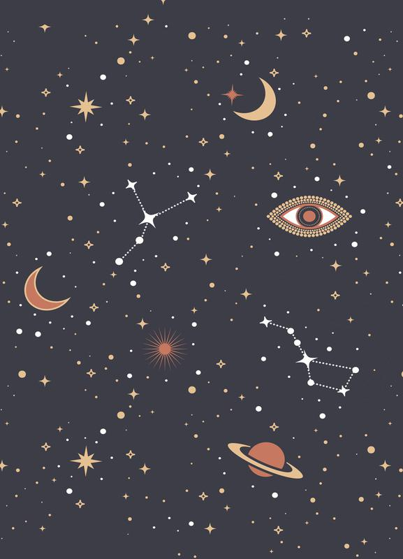 Mystical Galaxy -Leinwandbild