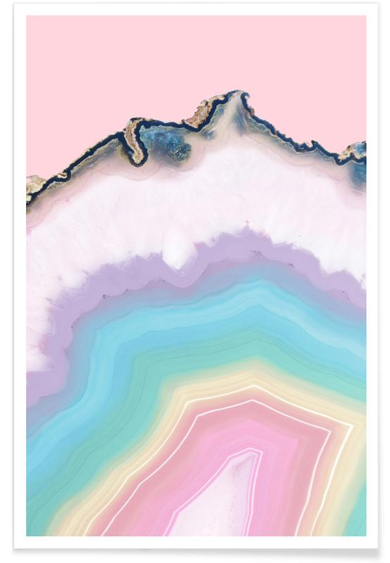 Rainbow Agate -Poster