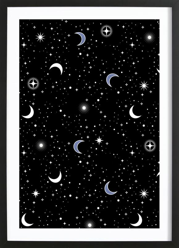 Stars Holiday Framed Print