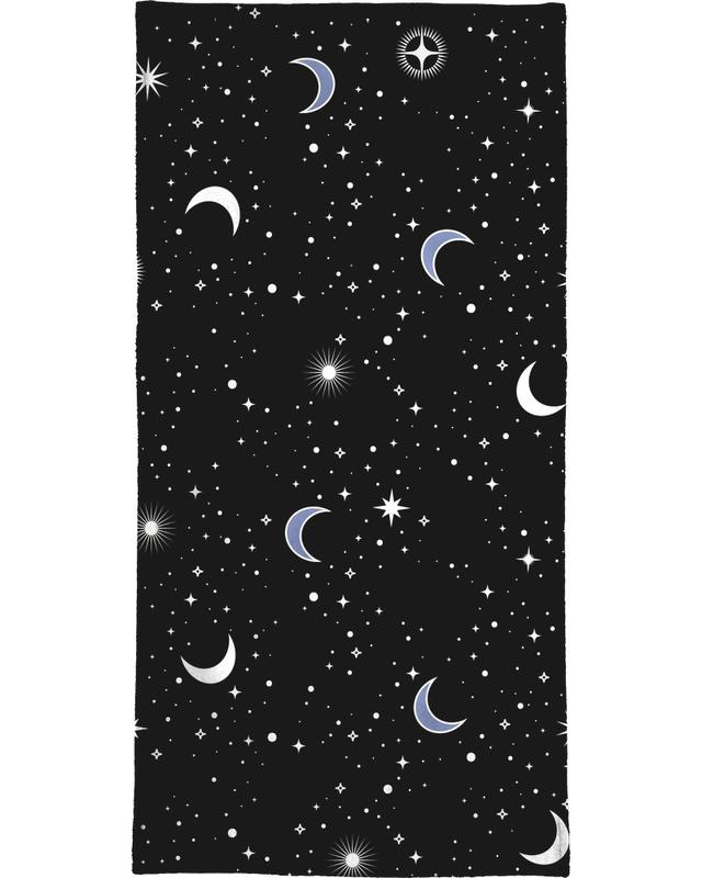 Stars Holiday Bath Towel