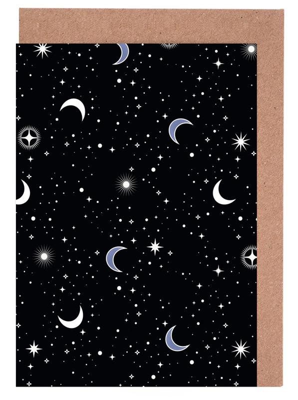 Stars Holiday -Grußkarten-Set