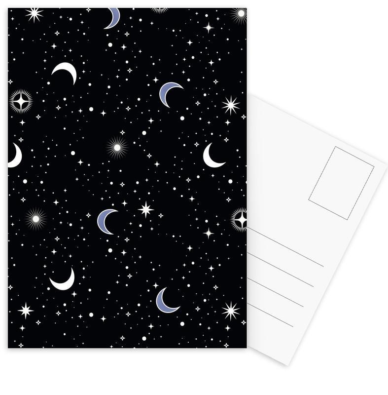 Stars Holiday -Postkartenset