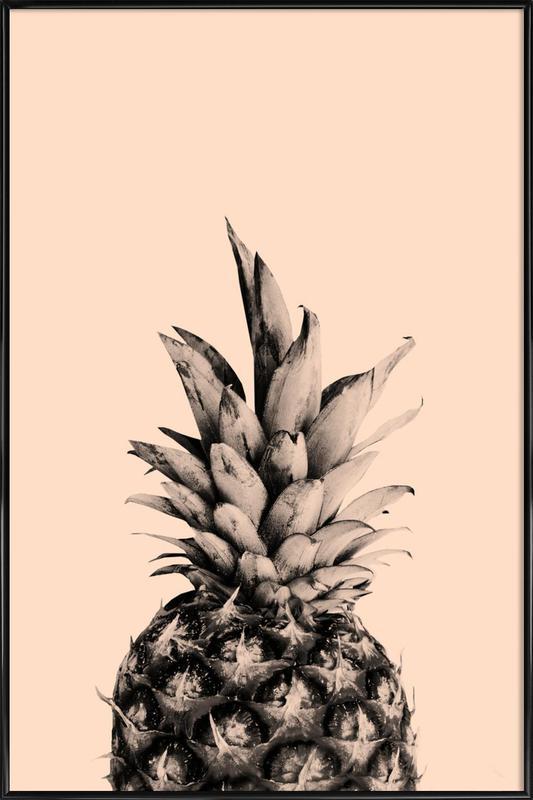 Pink Pineapple affiche encadrée
