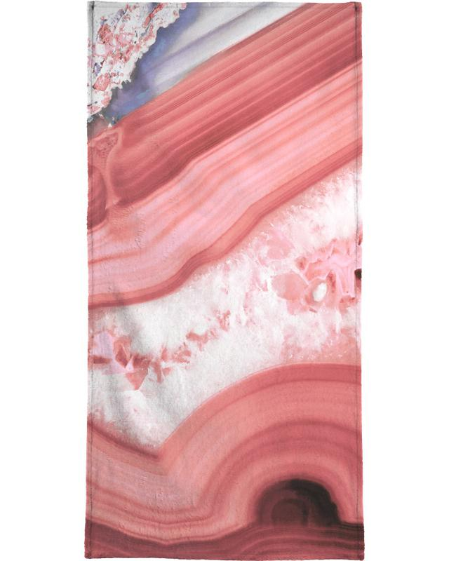 Agate Living Coral serviette de bain