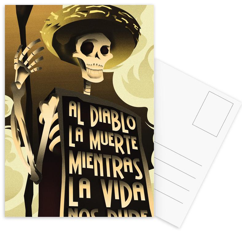 Day Of The Dead cartes postales