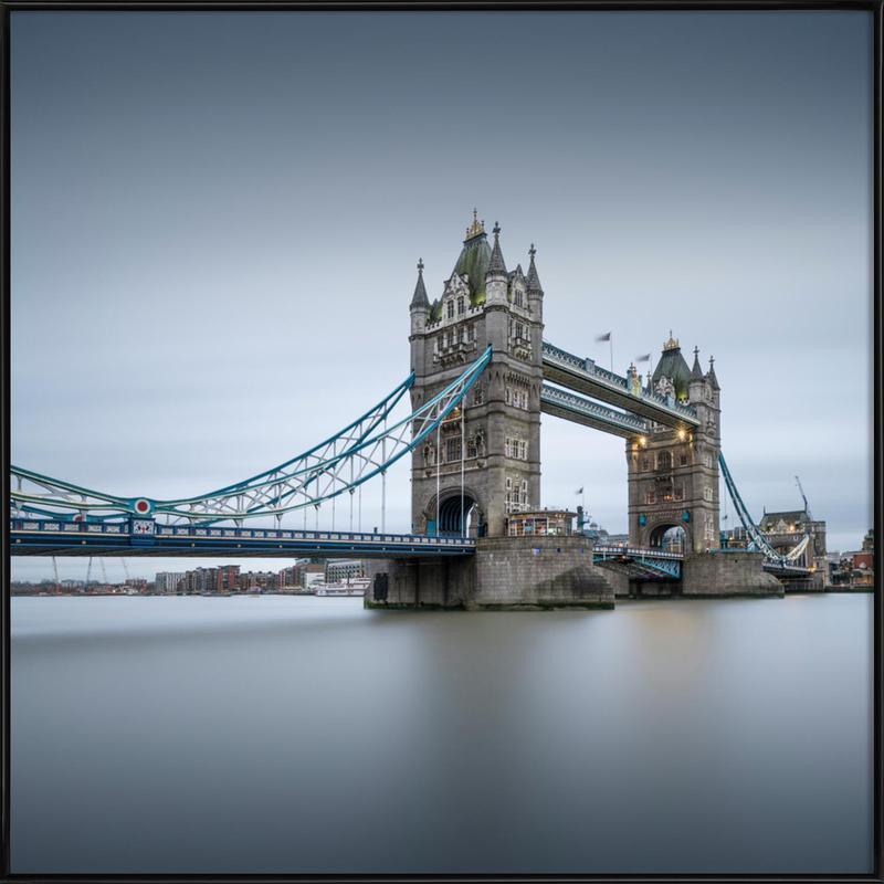 London - Tower Bridge affiche encadrée