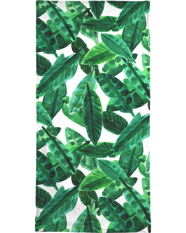 Small Palm Leaves -Handtuch