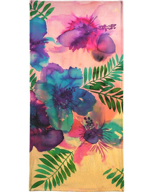Skye Hibiscus Floral -Handtuch