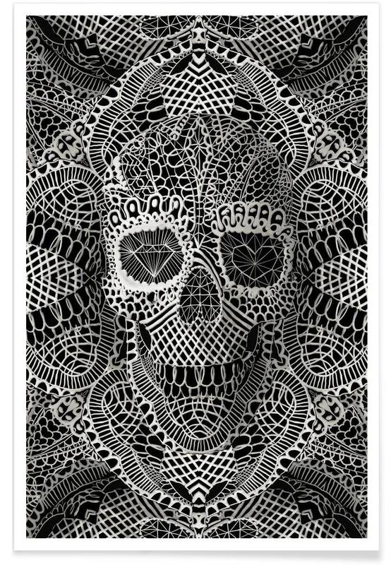 Lace Skull affiche