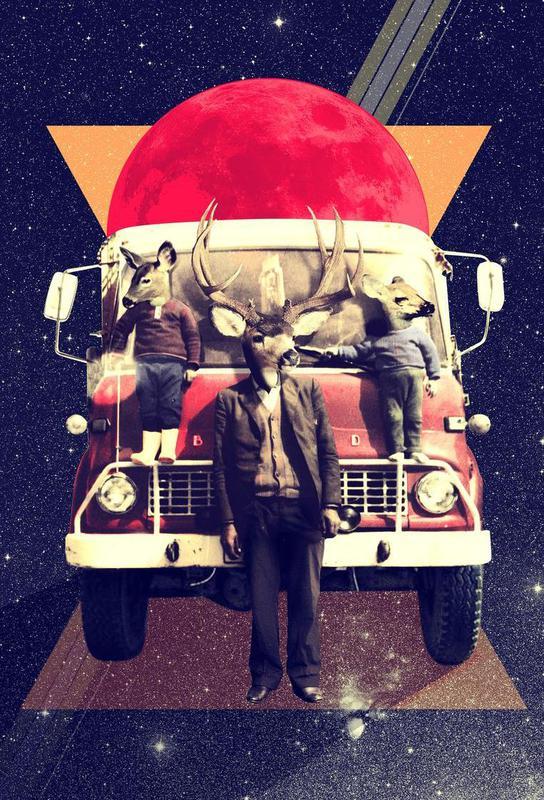 El Camion Acrylic Print