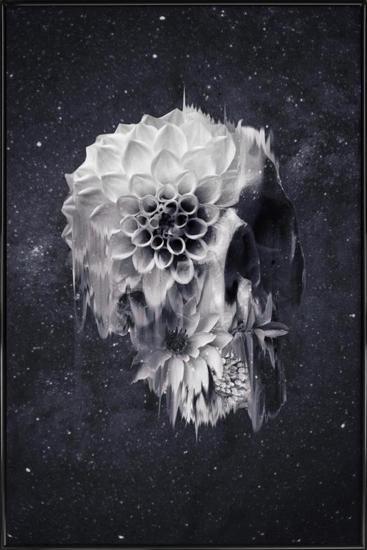 Decay Skull affiche encadrée