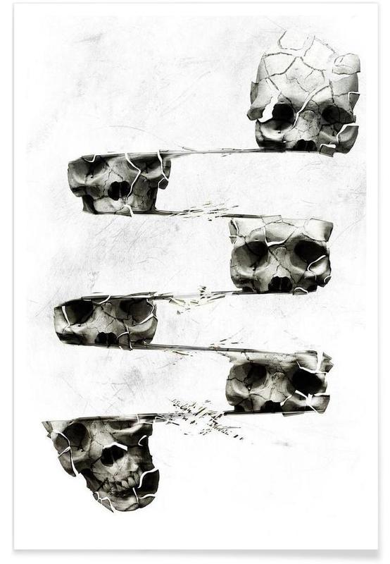 Skull III -Poster