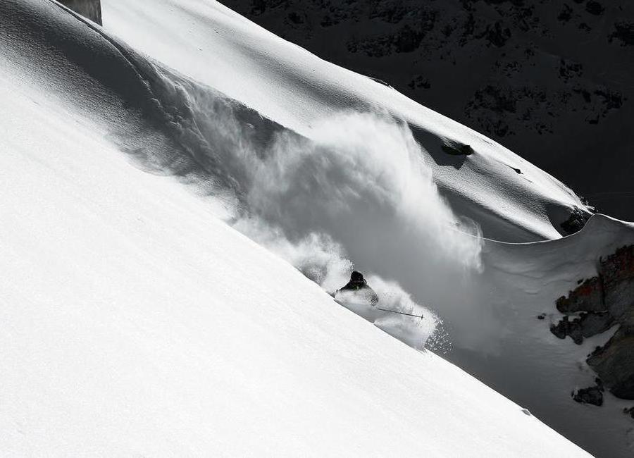 Cloud of Snow - Jakob Sanne -Leinwandbild