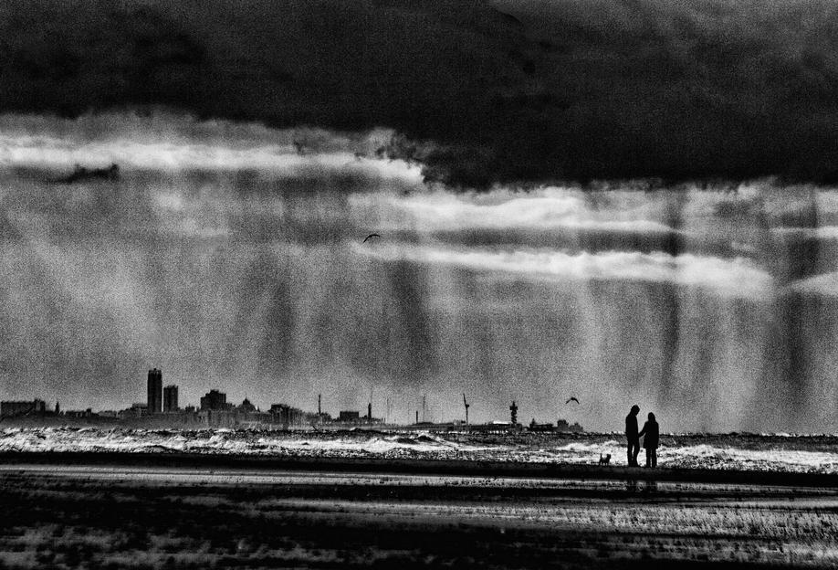 On The Beach - Susanne Stoop -Acrylglasbild