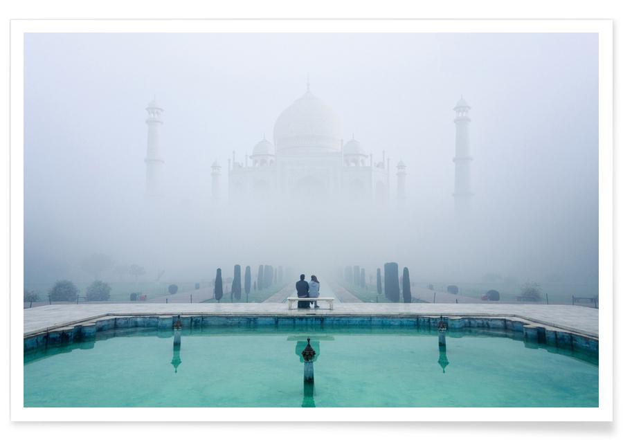 Misty Taj Mahal - Karthi Kn Raveendiran Poster