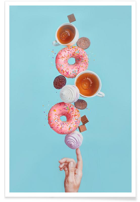 Weekend Donuts - Dina Belenko poster