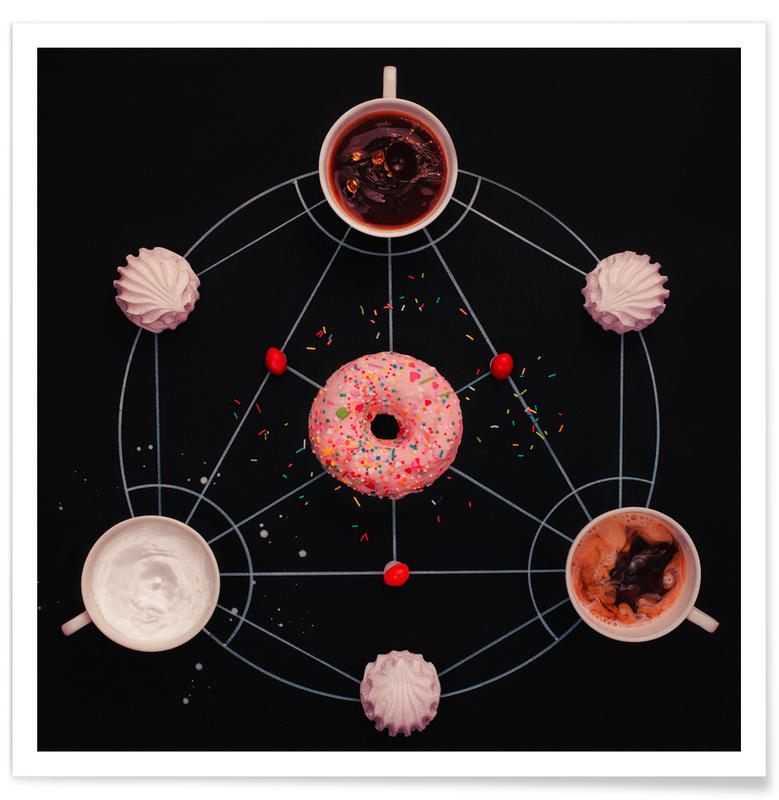 Sweet Alchemy Of Cooking - Dina Belenko Poster