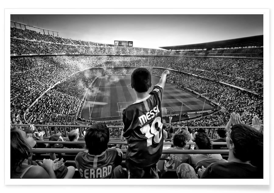 Cathedral Of Football - Clemens Geiger poster