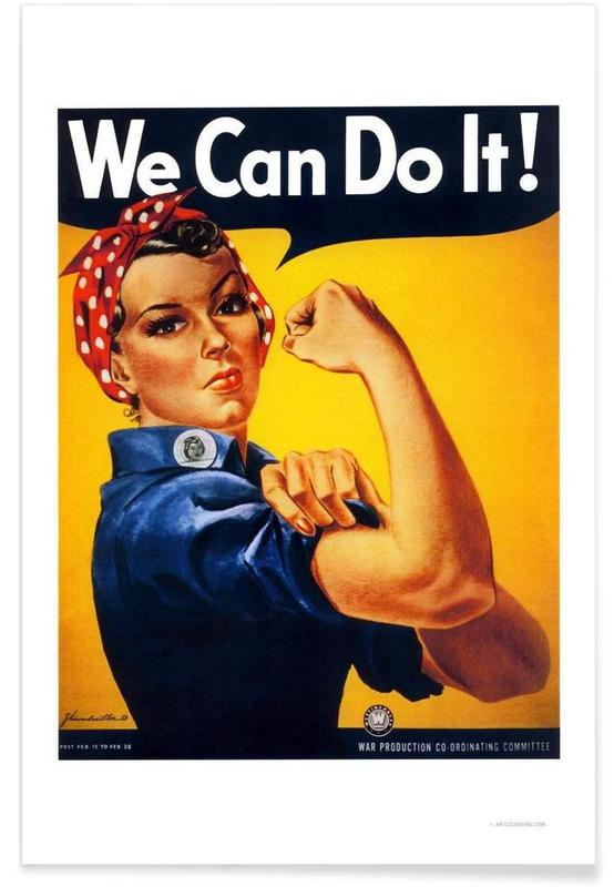 We Can Do It affiche