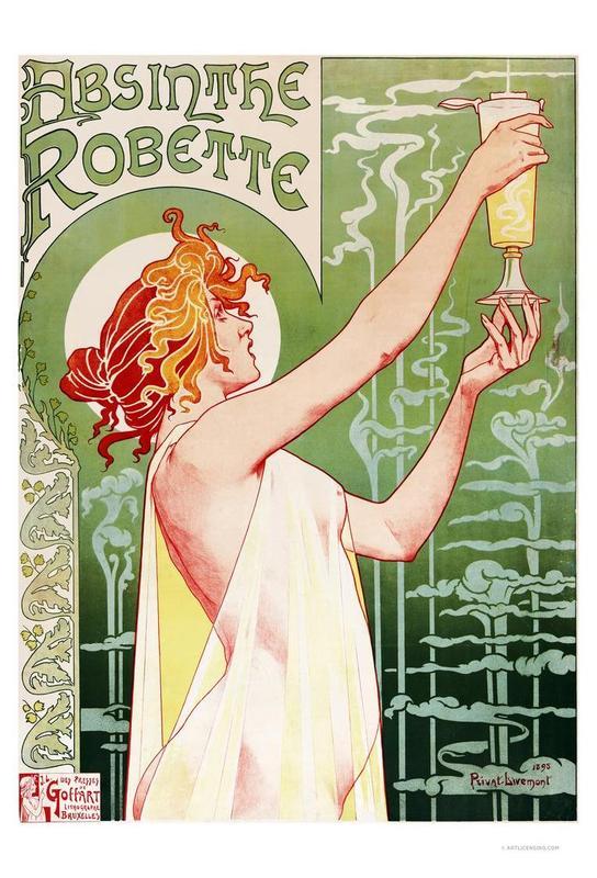 Absinthe Robette Acrylic Print
