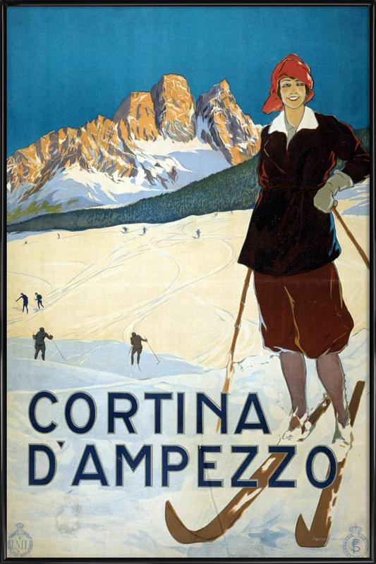 Cortina d'Ampezzo Framed Poster